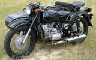 Днепр Мотоцикл лошадиные силы