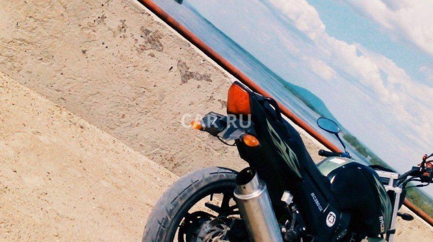 Мотоцикл Урал братск