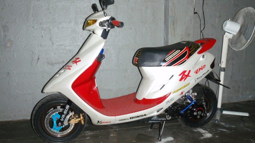 Скутер Honda dio af 28