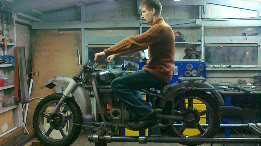 Съемника Мотоцикл Урал
