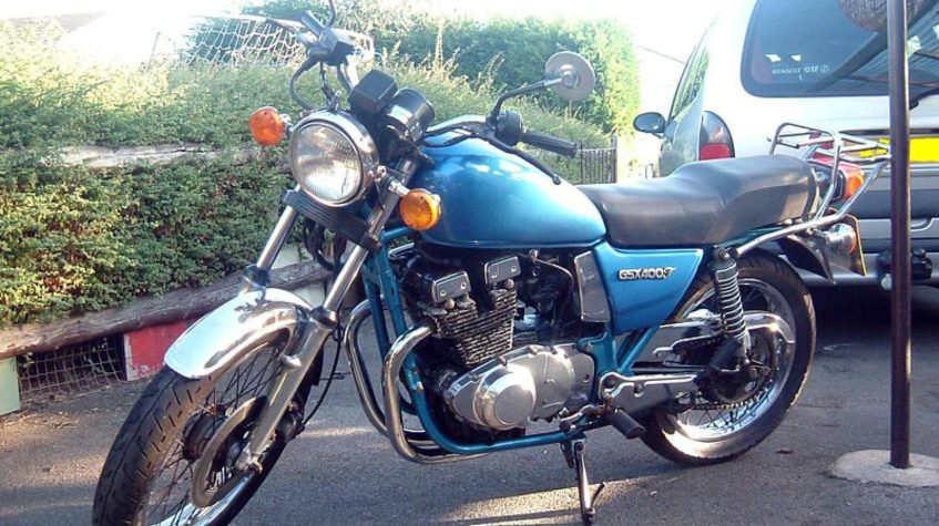 Suzuki GSX 250 traditional
