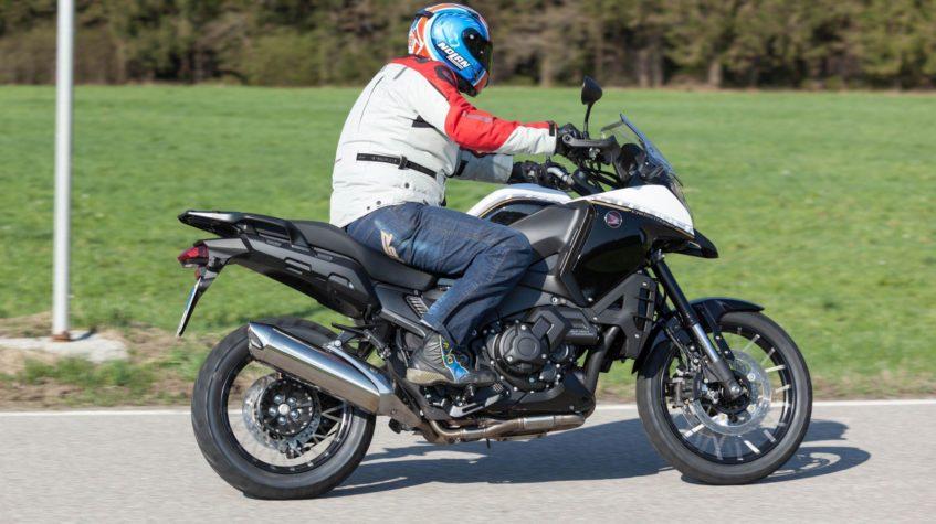 Honda VFR 1200 разгон до 100