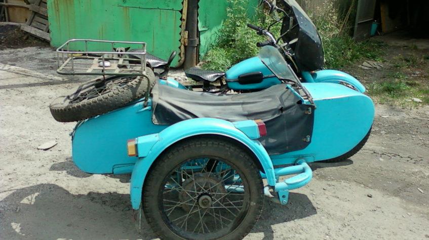 Мотоцикл Урал курганская область