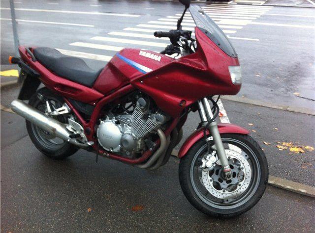 Мотоцикл ямаха 900 диверсия