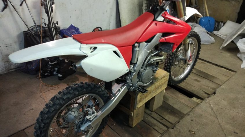 Мотоцикл хонда crf 250