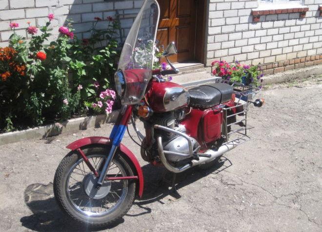 Паспорт спортивного мотоцикла
