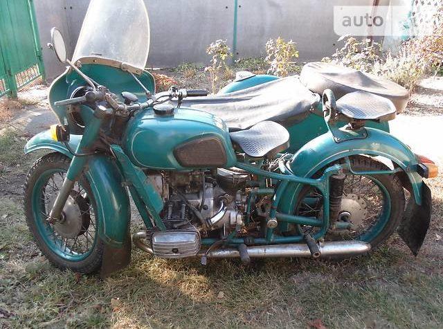 Продам мотоцикл с коляской