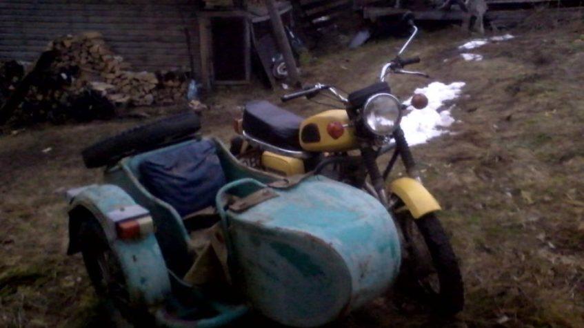 Мотоцикл иж с коляской картинки